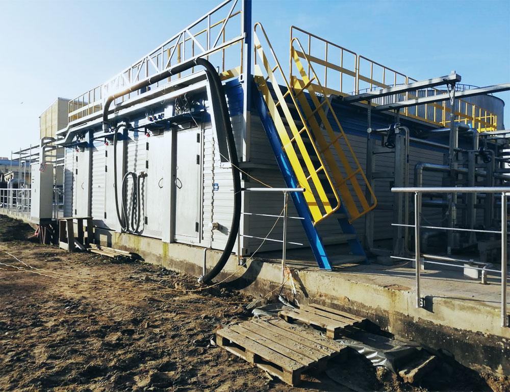 блочно модульные установки очистки воды
